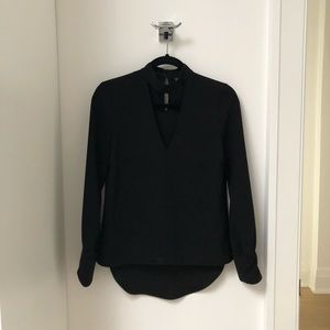 Zara Woman. Black Blouse. Size XS.
